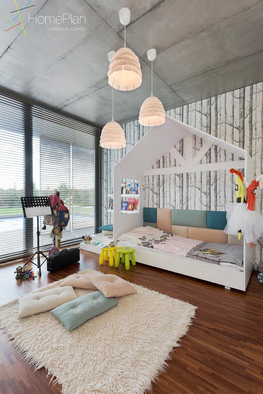pokój dziecięcy domek